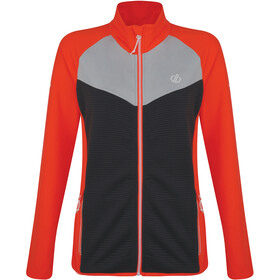 Dare 2b Allegiance Core Stretch Jacke Damen fiery coral/ebony grey/argent grey